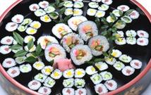 ▲ お寿司の盛り合わせ02